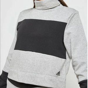 Adidas Cowl Neck Pullover Sweatshirt NWT Size M